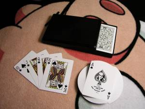 Casino Card Games Look Like This, Usually