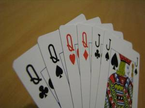 Here's a Hand from One of the Card Games on Our List